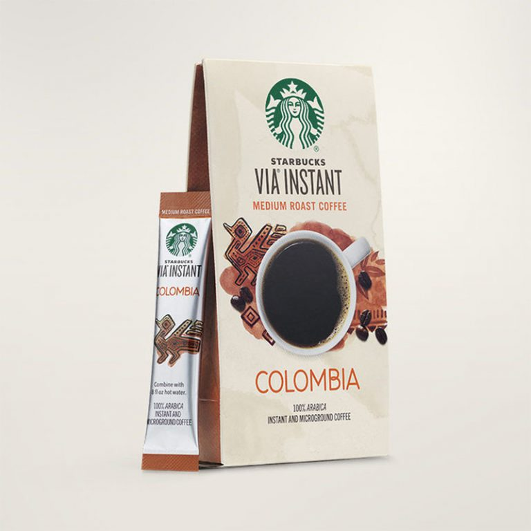 Best for Coffee Shop Fans Starbucks VIA Ready Brew Columbia Coffee