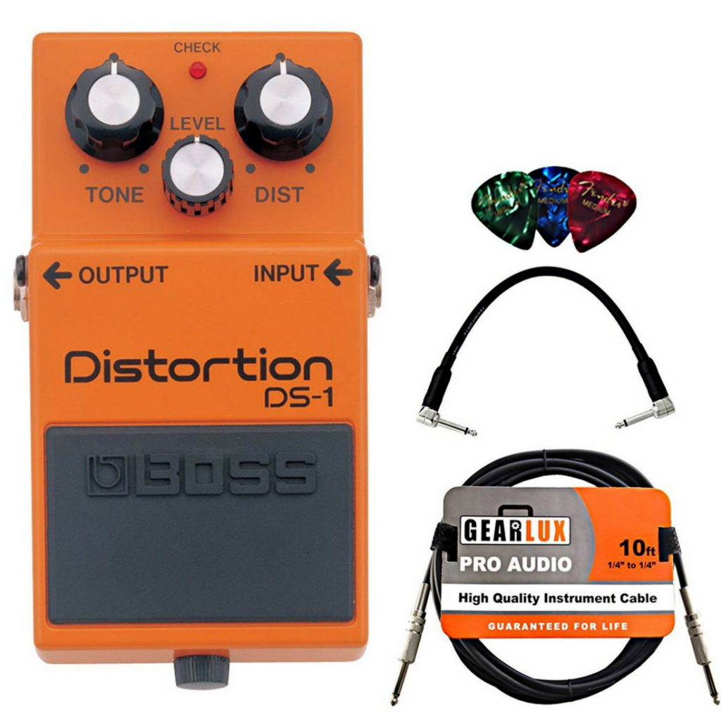 Best of the Best Boss DS-1 Distortion Bundle