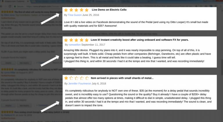 How to Read Customer Reviews