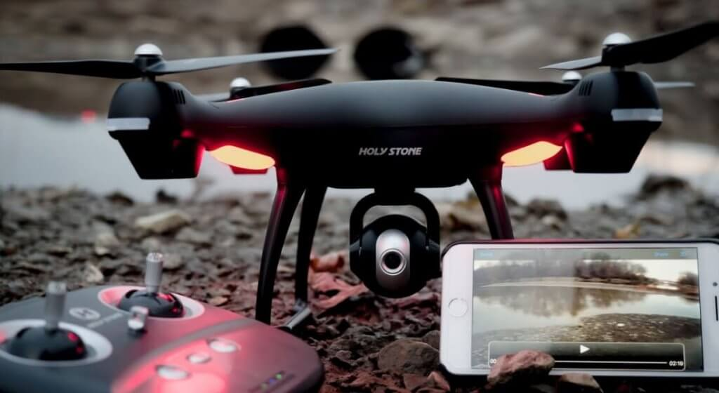Drone Review Holy Stone HS110D FPV RC Drone